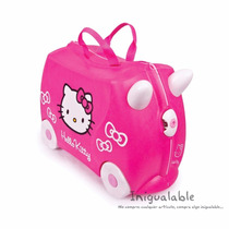Mochila En Forma De Carro Para Niñas De Hello Kitty Trunki