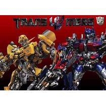 2x1 Kit Imprimible Transformers 4 Cumpleaños Robots