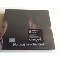 David Bowie Nothing Has Changed. 3 Cds Set Nuevo Nacional