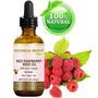 Red De Aceite De Semillas De Frambuesa. 100% Puro / Natural
