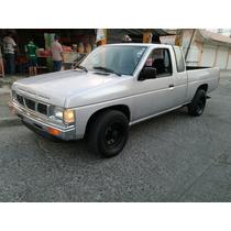 Hermosa Nissan Pick Up Cabina Y Media 1988 Posible Cambio