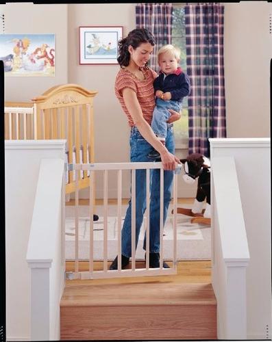 Reja puerta de seguridad para bebe o mascota de 71 a 107 - Seguro para puertas bebe ...