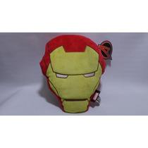 Cojin Peluche Original Del Casco De Iron Man Marvel Mide 28