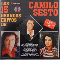 Cd Disco Compacto Los Quince Grandes Éxitos De Camilo Sesto
