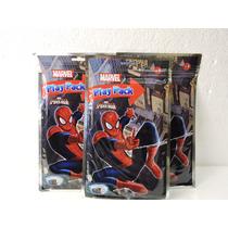 Spiderman Libros Colorear 10 Con 4 Colores Y Stikers Premios