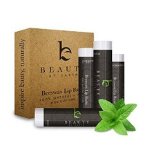 Lip Balm Menta Pack (4 Tubos) - Beauty De La Tierra 100% Nat