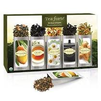 Tea Forte Classic Sola Steeps Té De Hoja Suelta Sampler 15 S