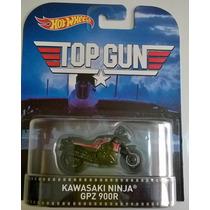 Hot Wheels - Kawasaky Ninja Gpz 900r - Motocicleta - Top Gun