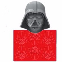 Forma De Silicon - Star Wars - Darth Vader - Chocolate Hielo