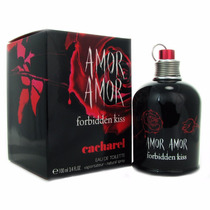 Perfume Original Amor Amor Forbidden Kiss Dama 100ml Cachare