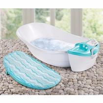 Bañera Spa De Lujo Hidromasaje Para Bebé Summer