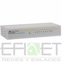 Allied Telesis At-fs708le Fast Ethernet Switch Efinet