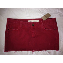 Faldas Hollister Co. T-27 Denim Nueva ,shorts Jeans
