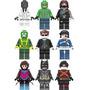 Set Batman Cocodrilo Terminator Gambito Compatible Con Lego