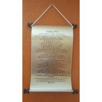 Pergamino De Laton Salmos 91