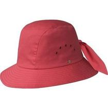 Gorra De La Mujer Betmar Anudada Cloche Hat Negro, Un Tamañ