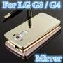 Bumper Lujo Mirror Espejo Aluminio Lg G4