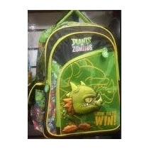 Backpack Mochila Plantas Contra Zombies 3d