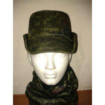 Tocado Femenino Gorra Militar Sedena Pixeleada Ejercito