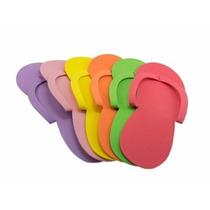 Sandalias Desechables Para Pedicure Spa C/12pz