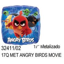 Oferta!! 10 Globo Angry Birds La Pelicula 18 Pulgadas 46cm