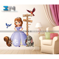 Vinilo Decorativo Princesas-i 31 Princesa Sofia. Calcomanía
