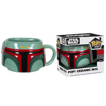 Funko Pop Taza Ceramica Boba Fett Star Wars Home Mug Darth