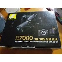 Camara Digital Reflex Slr Nikon D7000 16.2 Mp 2 Lentes