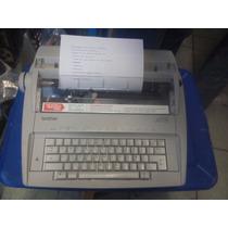 Maquina De Escribir Electrónica Brother Gx-6750