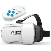 Vr Box Original Lentes De Realidad Virtual 3d Hd Control Bt