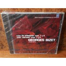 Georges Bizet. Suites: La Arlesiana Y Carmen. Cd.
