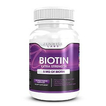 Biotina Con 5000 Mcg - B-complex Extra Suplemento Vitamina F