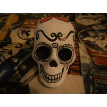 Cráneos Decorados Para Día De Muertos