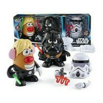 Señor Cara De Papa Star Wars Luke & Darth Vader + Stroomper