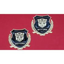 Emblemas Transformers (precio Pr Par)