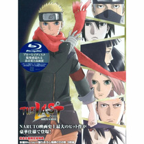 Naruto The Last Bluray Limited Edition Japonesa