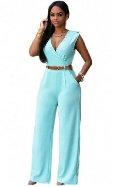 bajo precio c7fdf b7990 Sexy Elegante Jumpsuit Palazzo Fiesta Noche Casual 64003 en ...