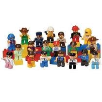 Personas Para Ladrillos Preescolar - 20 Piece Set