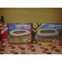 Combo 3d Estadios Mexicanos Azteca Omnilife Chivas Nanostad