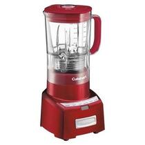 Licuadora Metálica Cuisinart Color Roja