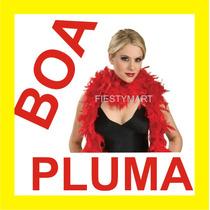 Boa Pluma Fiesta Boda Dj Xv Batucada Disfraz Collar Estola