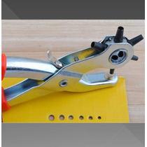 Perforadora De Cinturones Piel Plastico Vaqueta Tela Bolsas