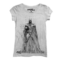 Playera Batman Sketch Mujer De Mascara De Latex