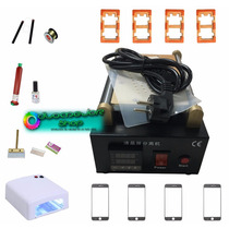 Kit Maquina Separadora Touch/lcd 4molds 4cristals Iphone