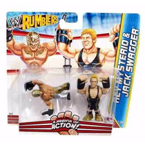 Wwe Rumblers Rey Misterio Y Jack Swagger