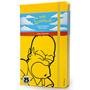 Libreta Simpson Grande Pasta Dura Moleskine Cuaderno