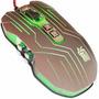 Mouse Profesional Gamer Hayabusa 9 Botones 2400dpi I1014