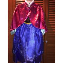 Ana Frozen Vestido Disfraz Original Disney Store