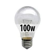 Focos Incandescentes Pack 10pzs 100w 110v Claro Imp