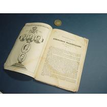Antiguo Documento Calendario Histórico De Maximiliano 1868